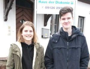 Sozialpraktikum von Johanna Münch und Josef Grün